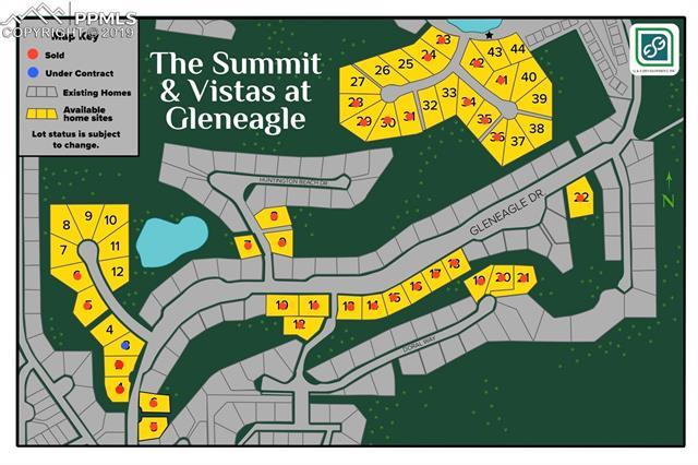 MLS# 4088790 - 8 - 390 Silver Rock Place, Colorado Springs, CO 80921