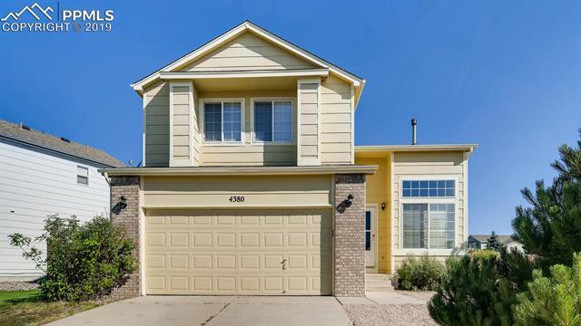 MLS# 3072575 - 1 - 4380  Basswood Drive, Colorado Springs, CO 80920
