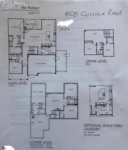 MLS# 2371635 - 40 - 4508 Outlook Ridge Trail, Colorado Springs, CO 80924