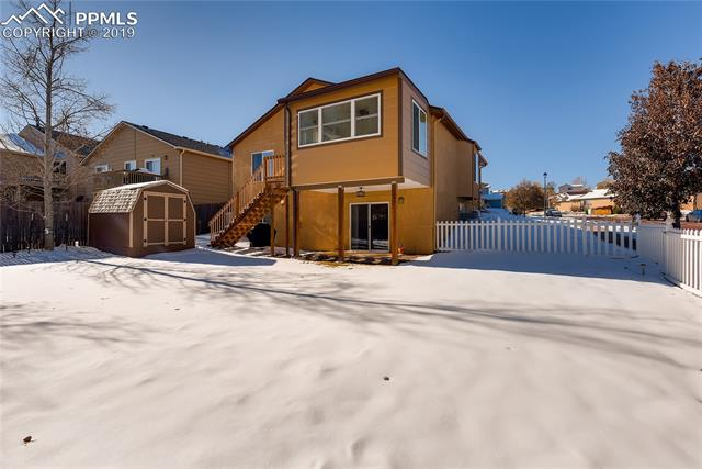MLS# 1743401 - 4883  Feathers Way, Colorado Springs, CO 80922