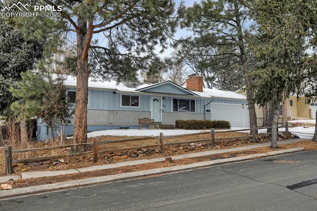 MLS# 9217502 - 1 - 414 Redwood Drive, Colorado Springs, CO 80907