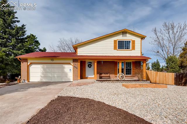 MLS# 6822846 - 1 - 2612 Legend Drive, Colorado Springs, CO 80920