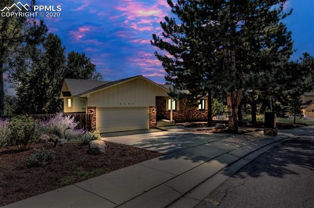 MLS# 1073802 - 1 - 5505 Saddle Rock Place, Colorado Springs, CO 80918