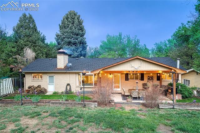 MLS# 1292199 - 39 - 1017 Arcturus Drive, Colorado Springs, CO 80905